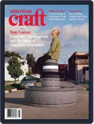 American Craft (Digital) Subscription December 1st, 2008 Issue