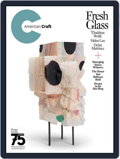 American Craft October 1st, 2017 Digital Back Issue Cover