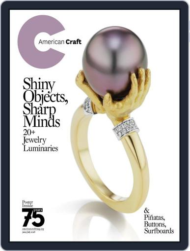 American Craft June 1st, 2018 Digital Back Issue Cover