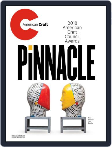 American Craft October 1st, 2018 Digital Back Issue Cover