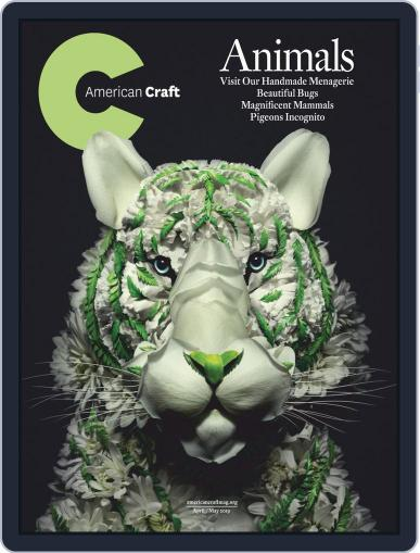 American Craft April 1st, 2019 Digital Back Issue Cover