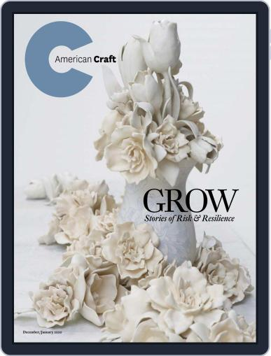 American Craft December 1st, 2019 Digital Back Issue Cover