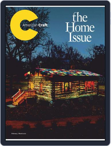 American Craft February 1st, 2020 Digital Back Issue Cover