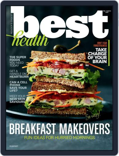 Best Health February 1st, 2018 Digital Back Issue Cover