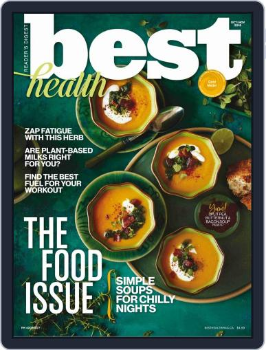 Best Health October 1st, 2018 Digital Back Issue Cover