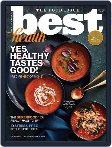 Best Health October 1st, 2019 Digital Back Issue Cover