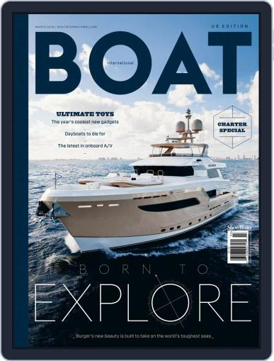 ShowBoats International March 1st, 2019 Digital Back Issue Cover