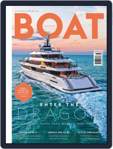 ShowBoats International July 1st, 2019 Digital Back Issue Cover