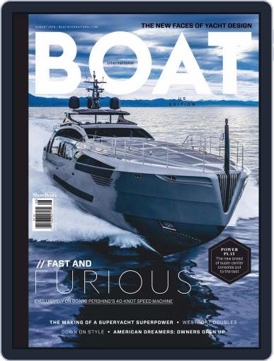 ShowBoats International August 1st, 2019 Digital Back Issue Cover