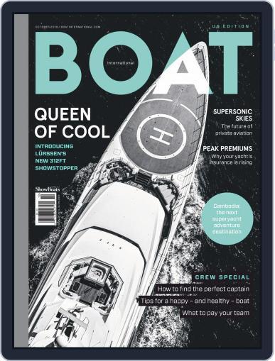 ShowBoats International October 1st, 2019 Digital Back Issue Cover