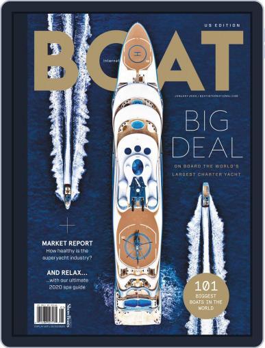 ShowBoats International January 1st, 2020 Digital Back Issue Cover
