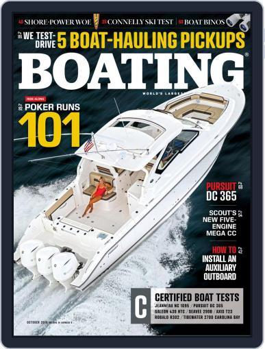 Boating October 1st, 2018 Digital Back Issue Cover
