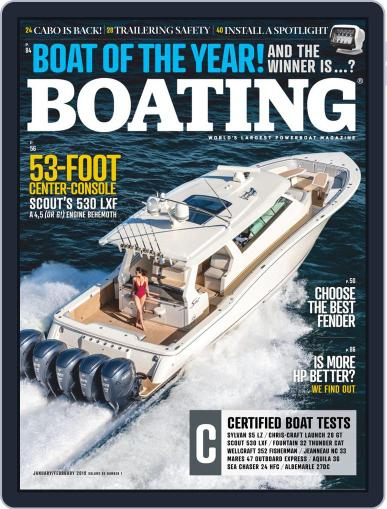 Boating January 1st, 2019 Digital Back Issue Cover