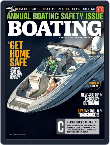 Boating May 1st, 2019 Digital Back Issue Cover