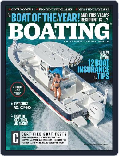 Boating January 1st, 2020 Digital Back Issue Cover