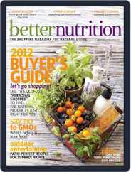 Better Nutrition (Digital) Subscription July 25th, 2012 Issue