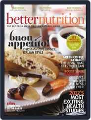 Better Nutrition (Digital) Subscription November 23rd, 2012 Issue