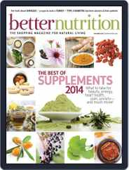 Better Nutrition (Digital) Subscription October 31st, 2014 Issue