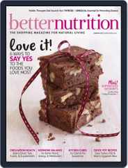 Better Nutrition (Digital) Subscription January 31st, 2015 Issue