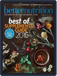 Better Nutrition (Digital) Subscription November 1st, 2016 Issue