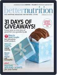 Better Nutrition (Digital) Subscription December 1st, 2016 Issue