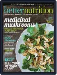 Better Nutrition (Digital) Subscription September 1st, 2017 Issue