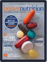 Better Nutrition (Digital) Subscription November 1st, 2017 Issue