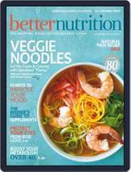Better Nutrition (Digital) Subscription September 1st, 2018 Issue