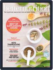 Better Nutrition (Digital) Subscription November 1st, 2018 Issue
