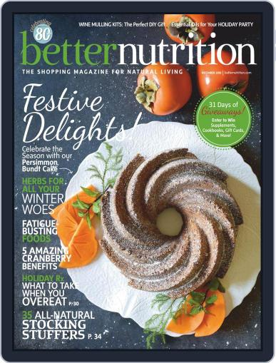 Better Nutrition December 1st, 2018 Digital Back Issue Cover