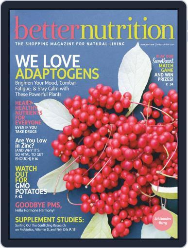 Better Nutrition February 1st, 2019 Digital Back Issue Cover