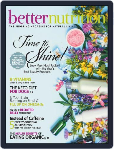 Better Nutrition April 1st, 2019 Digital Back Issue Cover