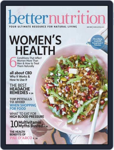 Better Nutrition May 1st, 2019 Digital Back Issue Cover