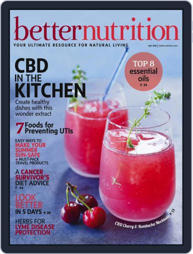 Better Nutrition July 1st, 2019 Digital Back Issue Cover