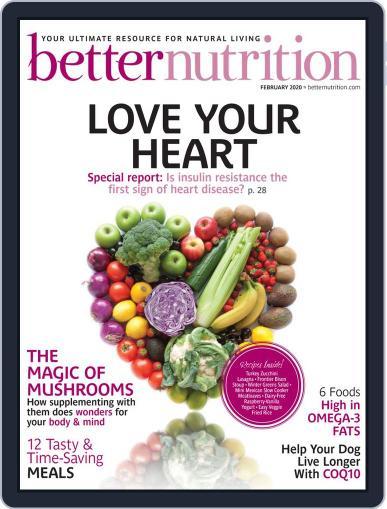Better Nutrition February 1st, 2020 Digital Back Issue Cover