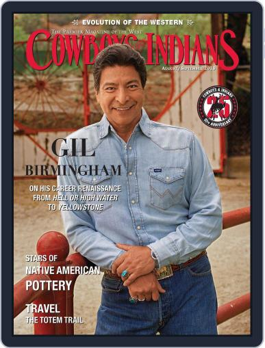 Cowboys & Indians August 1st, 2018 Digital Back Issue Cover