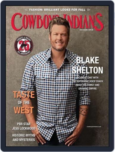 Cowboys & Indians October 1st, 2018 Digital Back Issue Cover