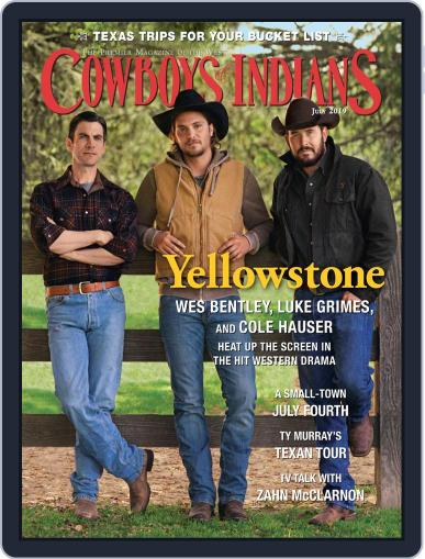 Cowboys & Indians July 1st, 2019 Digital Back Issue Cover