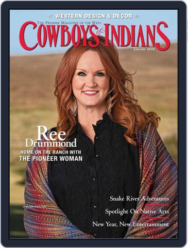 Cowboys & Indians January 1st, 2020 Digital Back Issue Cover