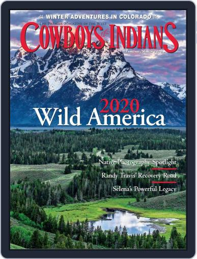 Cowboys & Indians February 1st, 2020 Digital Back Issue Cover