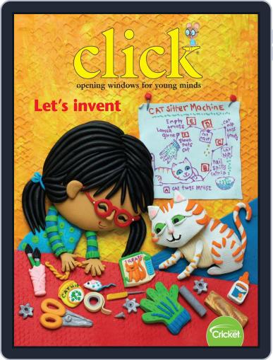 Click Science And Discovery Magazine For Preschoolers And Young Children February 1st, 2019 Digital Back Issue Cover
