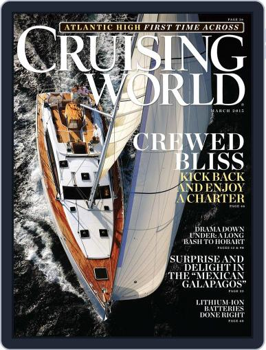 Cruising World March 1st, 2015 Digital Back Issue Cover