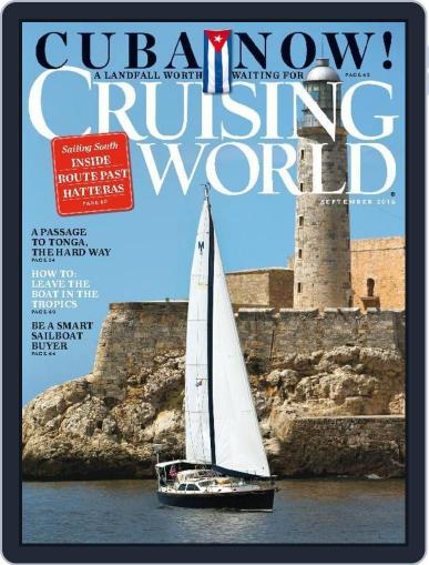 Cruising World September 1st, 2015 Digital Back Issue Cover