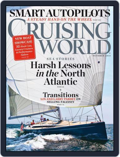 Cruising World October 1st, 2015 Digital Back Issue Cover