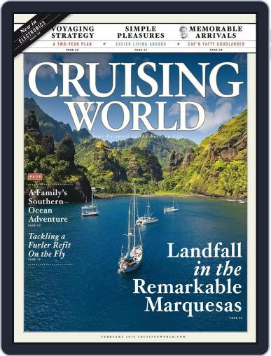 Cruising World January 16th, 2016 Digital Back Issue Cover