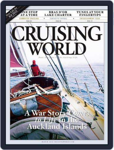Cruising World February 13th, 2016 Digital Back Issue Cover