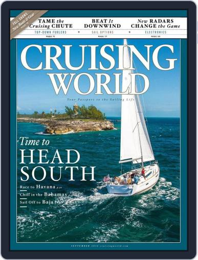 Cruising World August 6th, 2016 Digital Back Issue Cover