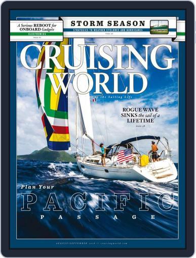 Cruising World August 1st, 2018 Digital Back Issue Cover