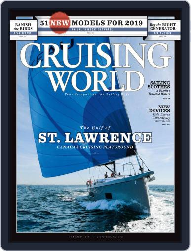 Cruising World October 1st, 2018 Digital Back Issue Cover