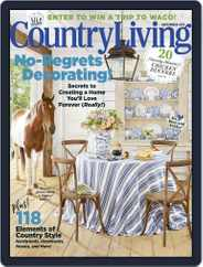 Country Living (Digital) Subscription September 1st, 2017 Issue